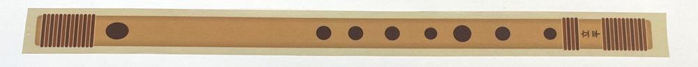 無限篠笛マスキングテープ